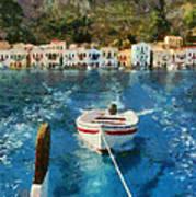Kastellorizo Island Art Print