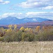 Katahdin From Staceyville 3 Art Print