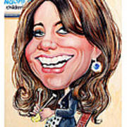 Kate Middleton. Duchess Of Cambridge Art Print