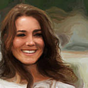 Kate Middleton Art Print