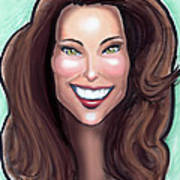 Kate Middleton Art Print by Kevin Middleton