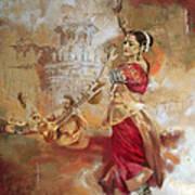 Kathak Dancer 8 Art Print