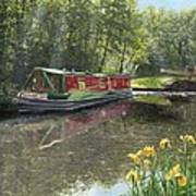 Kathleen May Chesterfield Canal Nottinghamshire Art Print