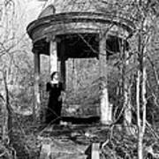 Kathy In Gazebo 1979 Art Print