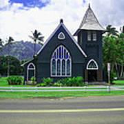 Kauai Church 2 Art Print