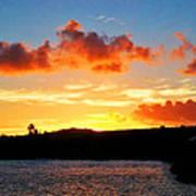 Kauai Sunset 2 Art Print