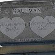 Kaufman Grave No Greater Love Art Print