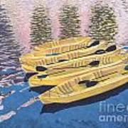 Kayak Dream Art Print