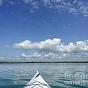 Kayak On Lake Ontario Art Print
