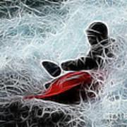 Kayaker 2 Art Print