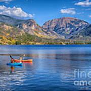 Kayaking Grand Lake Art Print