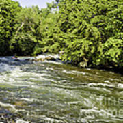 Kayaking On Gull River Art Print