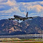 Kc-135 Take Off Art Print