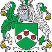 Kearn Coat Of Arms Irish Art Print