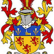 Kearney Coat Of Arms Irish Art Print