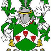 Kearns Coat Of Arms Irish Art Print