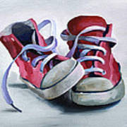 Keds Art Print by Natasha Denger
