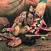 Keema Indian Princess Art Print