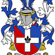 Keenan Coat Of Arms Irish Art Print