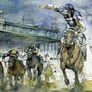 Keeneland  Art Print by Michael  Pattison