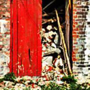 Keep All Fire Exits Clear Art Print