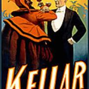 Kellar Toasts The Devil Art Print