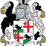 Kellett Coat Of Arms Irish Art Print