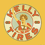 Kelly Tires  Art Print
