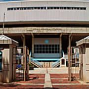 Kenan Memorial Stadium - Gate 6 Art Print