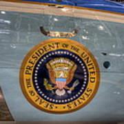 Kennedy Air Force One Art Print