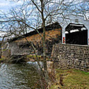 Kennedy Covered Bridge - Chester County Pa Art Print