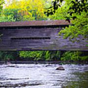 Kennedy Covered Bridge - Kimberton Pa. Art Print