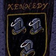 Kennedy Crest Art Print