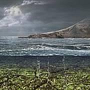 Kenorland Prehistoric Landscape, Artwork Art Print