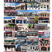 Kentlands Restaurants 2011 Art Print