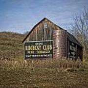 Kentucky Club Barn Art Print