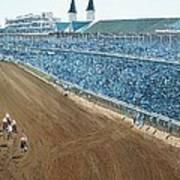 Kentucky Derby - Horse Race Art Print