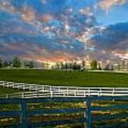 Kentucky Famous Horse Hotel Art Print