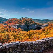 Kentucky - Natural Arch Scenic Area Art Print