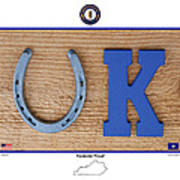 Kentucky Proud Art Print