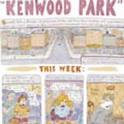 Kenwood Park Art Print