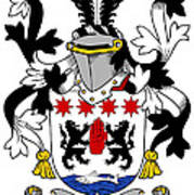 Keon Coat Of Arms Irish Art Print