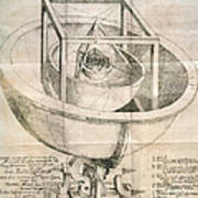 Keplers Universe, 1596 Art Print
