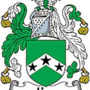 Ker Coat Of Arms Irish Art Print