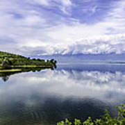 Kerkini Lake View. Art Print