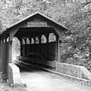 Herns Mill Bridge Art Print