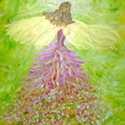 Kerry Angel  Art Print