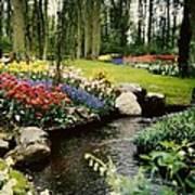 Keukenhof Tulip Gardens Art Print