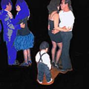 Kevin Howard's Wedding Dancers Tucson Arizona 1990-2012 Art Print