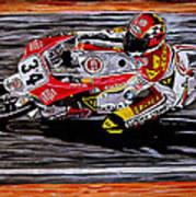 Kevin Schwantz Art Print